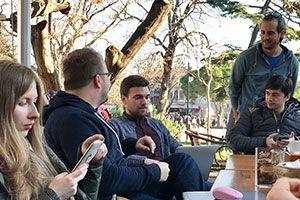 The team on IRL in Turkey