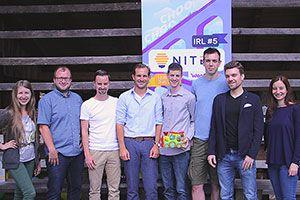 The team on IRL#5 in Ljubljana